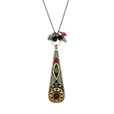 Michal Golan Earth Teal Necklace