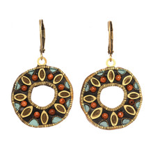 Michal Golan Jewelry Medium Open Circle Earrings