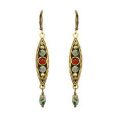 Long Eye Pendant earrings from Michal Golan Jewelry