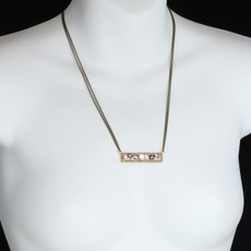 Michal Golan Jewelry Sideways Bar Necklace - second image