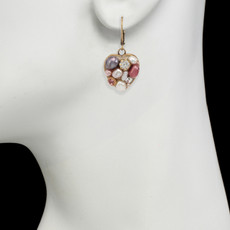 Michal Golan Small Heart Earrings - second image