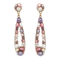 Michal Golan Earrings Open Drop