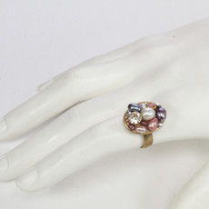 Michal Golan Jewelry Small Oval Pink Ring - second image