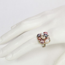 Pink Michal Golan Jewelry Small Square Ring - second image