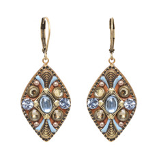 Brown Medium Diamond earrings from Michal Golan Jewelry