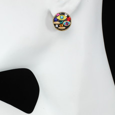 Michal Golan Evil Eye Multicolor Earrings - second image
