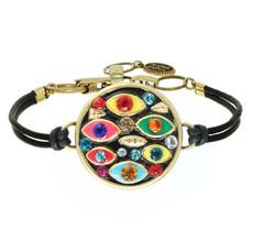Michal Golan Evil Eye Round Multi-eye Bracelet