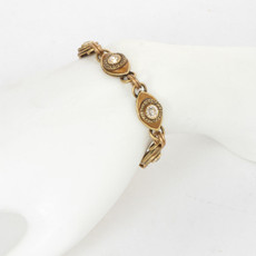 Michal Golan Evil Eye Gold Golden 5 Eye Bracelet - second image