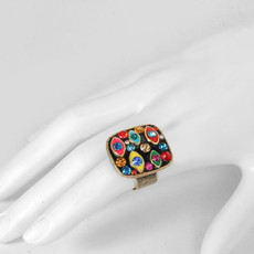 Michal Golan Evil Eye Multicolor Ring - second image