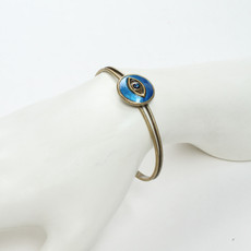 Michal Golan Jewelry Round Evil Eye Cuff Bracelet - second image