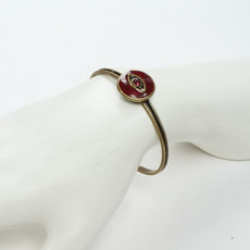 Red Michal Golan Jewelry Evil Eye Cuff Bracelet - second image