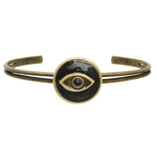 Michal Golan Evil Eye Black Bracelet