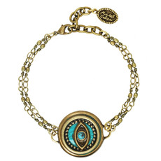 Michal Golan Bracelet Evil Eye Chain