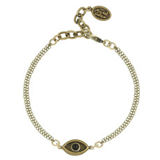 Evil Eye with Onyx Center bracelet from Michal Golan Jewelry