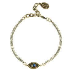 Michal Golan Evil Eye Gold Bracelet