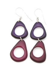 Purple Encanto Jewelry Ada Orchid Earrings