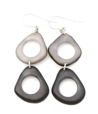 Gray Encanto Jewelry Ada River Rock Earrings