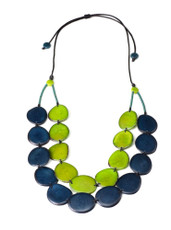Blue Aurora Deep Forest necklace from Encanto Jewelry