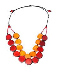 Encanto Semilla Necklace Aurora Sunset
