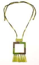 Green Encanto Jewelry Kauka Bamboo Necklace