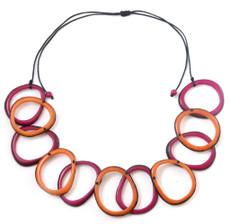 Encanto Red Loops Fiesta Necklace