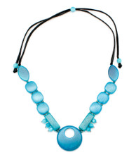 Encanto Jewelry Safia Blue Sea Necklace