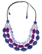 Purple Encanto Jewelry Selena Exotic Necklace