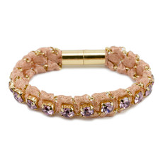 Peach Purple Anat Jewelry Ella Bracelet