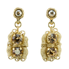 Anat Collection Gold Urban Chic  Earrings