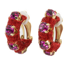 Anat Collection Earrings Red Urban Chic