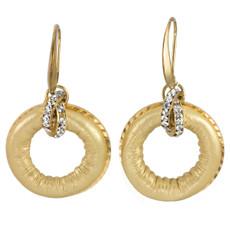 Anat Jewelry Gold Loop Earrings