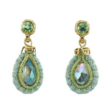 Anat Collection Earrings Olive Green Joy Nouveau Glam