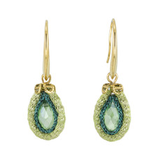 Anat Collection Green Joy Nouveau Glam Earrings
