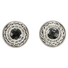 Anat Collection Sterling Silver Nouveau Glam Earrings