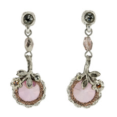 Anat Collection Earrings Antique Pink Nouveau Glam