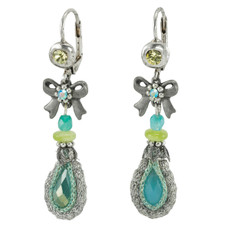 Anat Collection Earrings Lime Blue Nouveau Glam