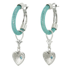 Anat Collection Earrings Gypsy Heart Round Motion