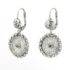 Anat Collection Earrings Silver Romantic Treasures