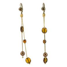 Brown Anat Jewelry Earrings