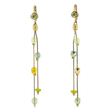 Anat Collection Yellow-Green Earrings