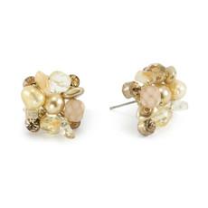 Anat Jewelry Tan  Earrings