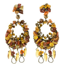 Anat Collection Earrings Autumn Wreath
