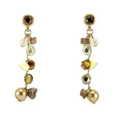 Anat Jewelry Bronze  Earrings