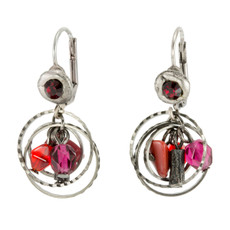 Anat Collection Red Earrings Encompass