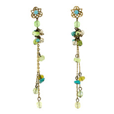 Turq green Anat Jewelry Green Brillance  Earrings