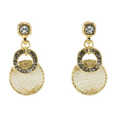 Anat Collection Earrings Enchanting Gold Sterling Perfection