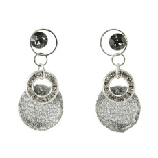 Anat Jewelry Enchanting Silver Sterling Perfection Earrings