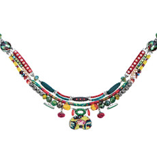 Green Multi Coast Ayala Bar Necklace