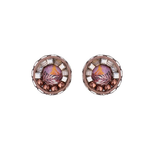 c809fb1fa2747 Ayala Bar Mother Earth Cute as a Button Earrings