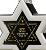 Inspirational Jewelry Necklace Star of David Silver